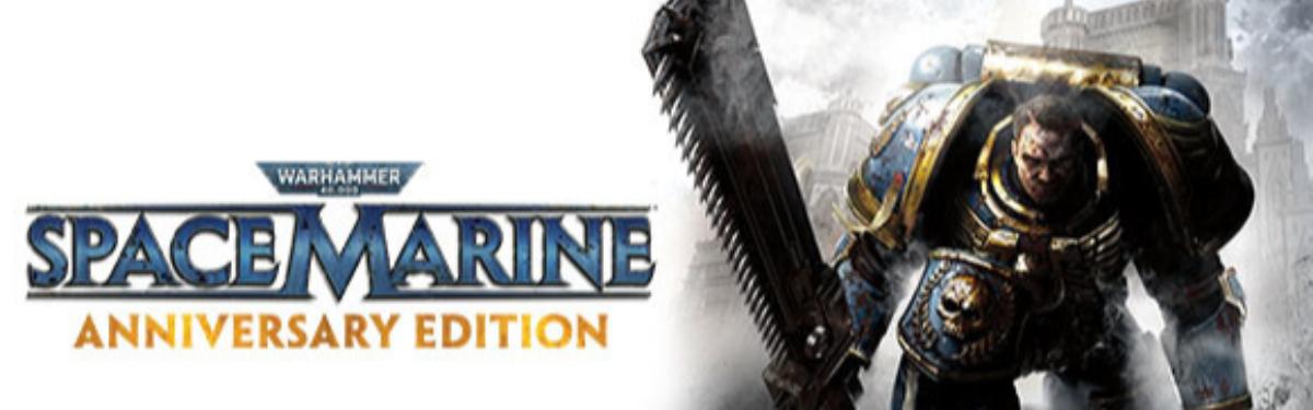 В честь 10-летия выхода Warhammer 40,000: Space Marine получила большое бесплатное обновление