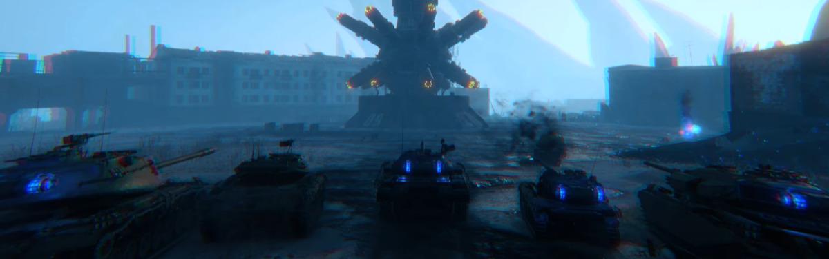"""World of Tanks - Игроков ждет не мирная поездка в город """"Мирный-13"""""""