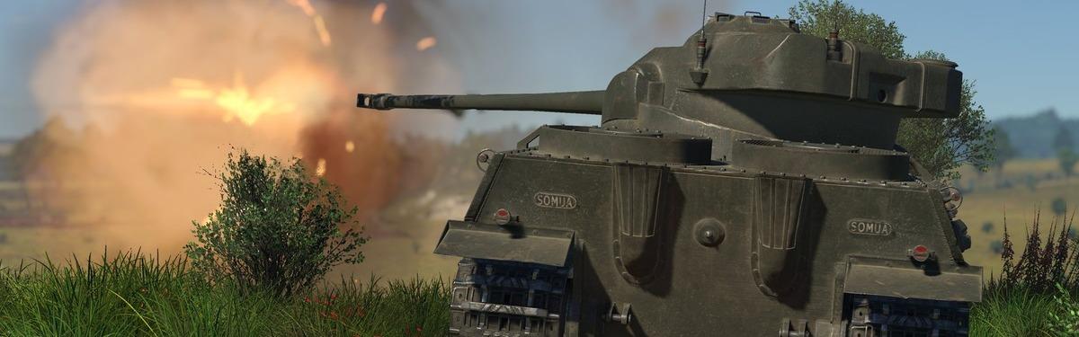 [Конкурс] War Thunder - разыгрываем набор Somua SM