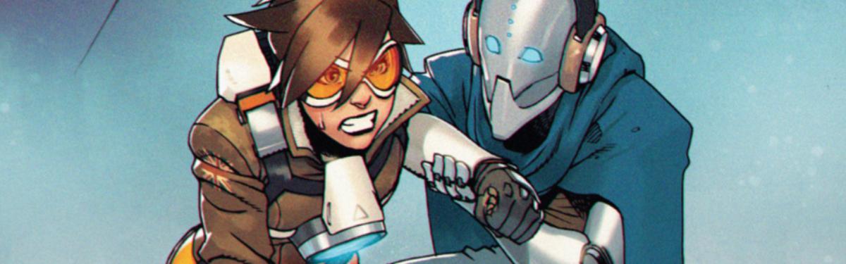 "Overwatch - Четвертый выпуск комикса ""Tracer: London Calling"""