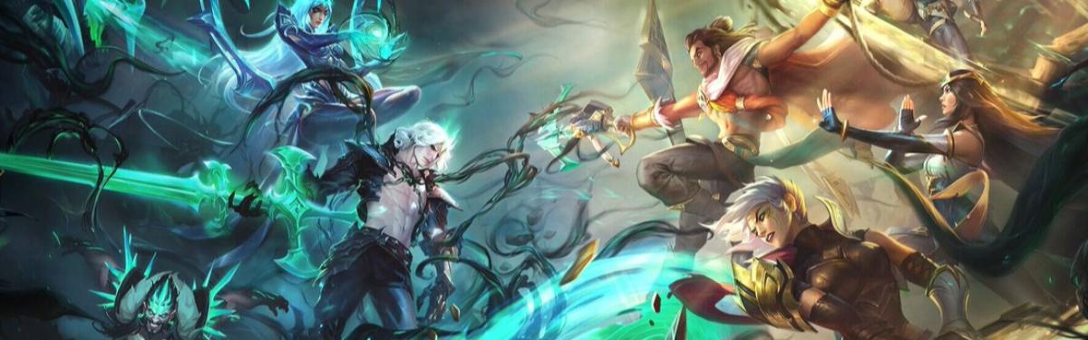 """Legends of Runeterra - Настало время """"Стражей света"""". Вышло расширение с Акшаном и Виего"""