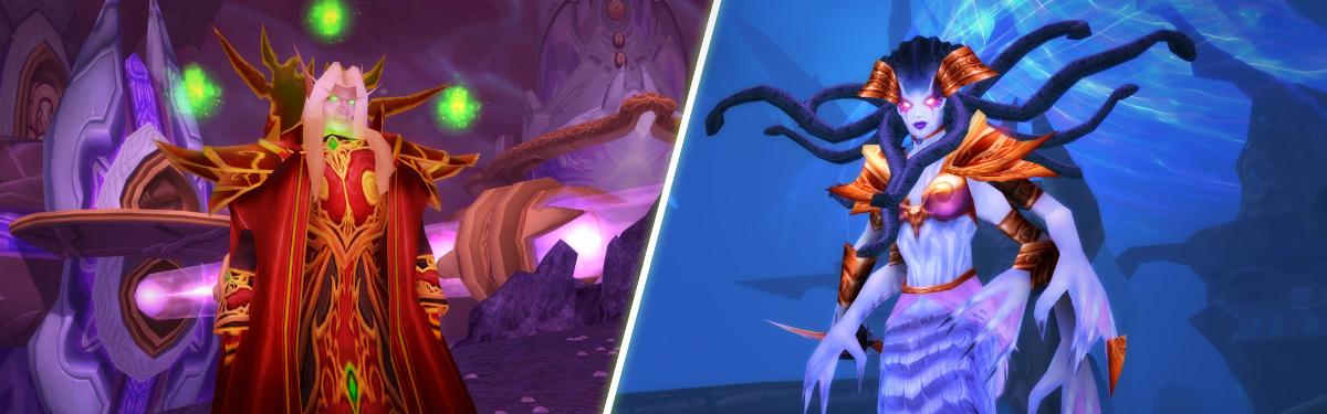 """В World of Warcraft Classic открылись рейды """"Змеиное святилище"""" и """"Око Крепости Бурь"""""""