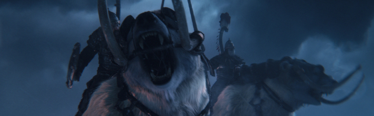 Total War: WARHAMMER III — Боевые сани Кислева с запряженными медведями