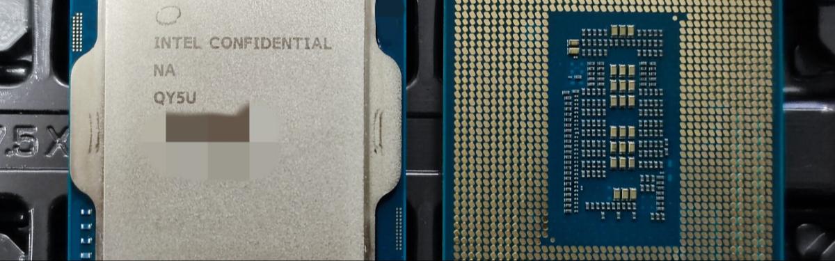 [Утечка] Процессоры Intel 12 поколения поступят в продажу 4 ноября