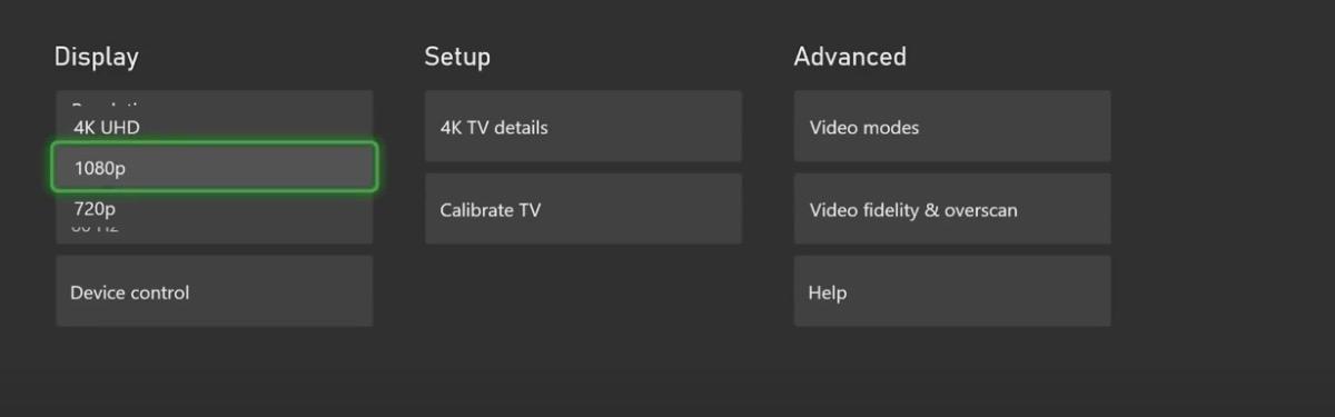 Xbox Series X/S не поддерживает 1440р