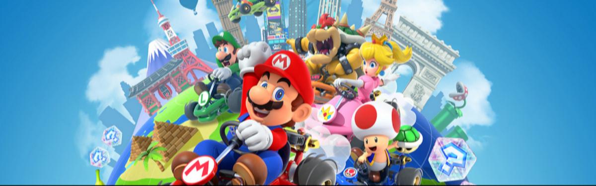 Mario Kart Tour - Мобильная игра принесла Nintendo более 200 млн долларов прибыли