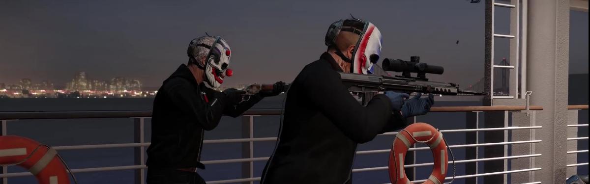 Ограбление казино на борту лайнера в новом DLC для Payday 2