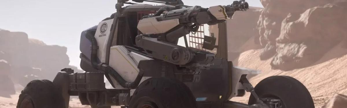 Star Citizen - Видео о транспорте для раскопок и больших взрывах