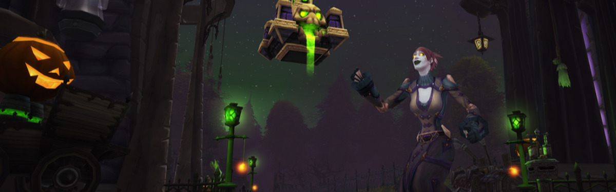 World of Warcraft: Shadowlands - Наступил Тыквовин