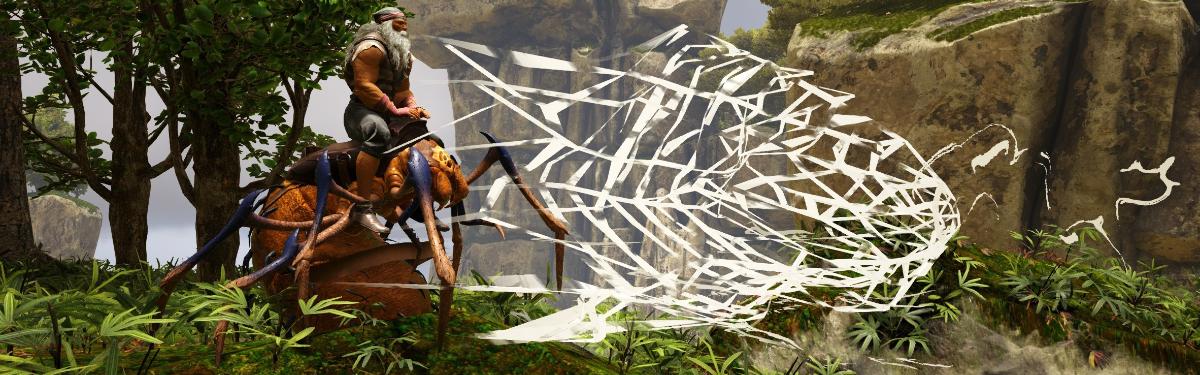 Теперь в Atlas есть корабль-черепаха и ползущие по стенам пауки